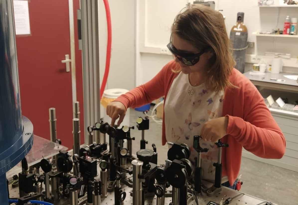 Carmem in the lab