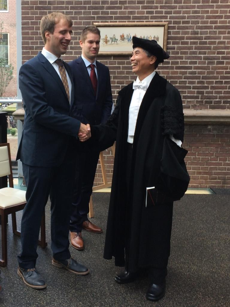 Olger's PhD defense