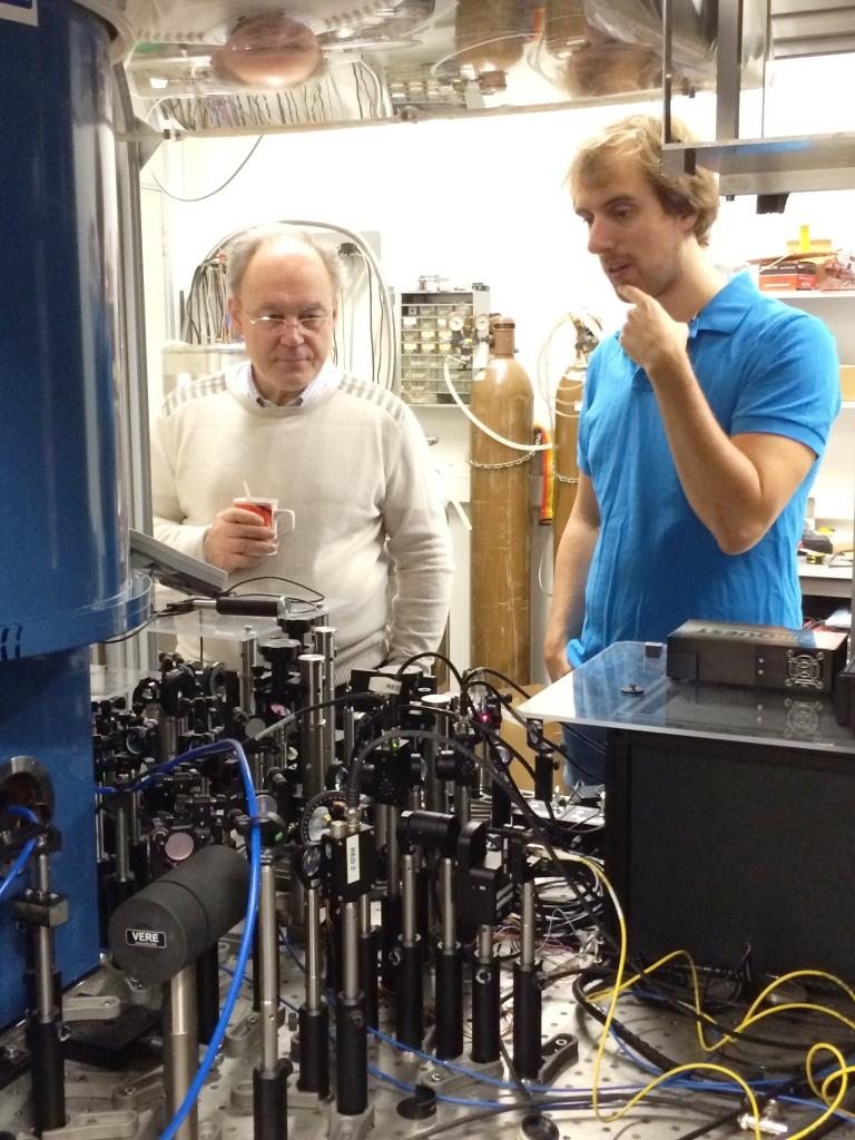 Olger and Ivan in the SiC lab Nov. 2015